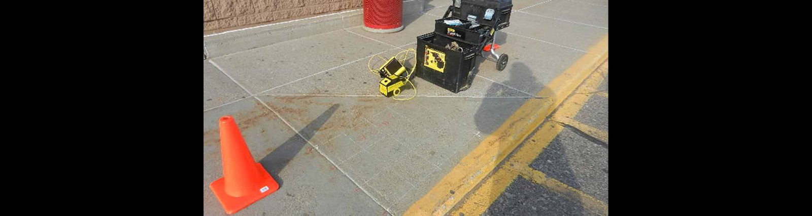 GPR Concrete Scanner for Imaging Concrete Like X-Ray